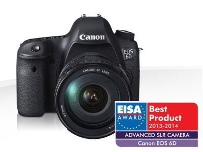 EOS 6D Kit mit EF 24-105mm F4.0 L IS USM, Body 3 Jahre Premium-Garantie